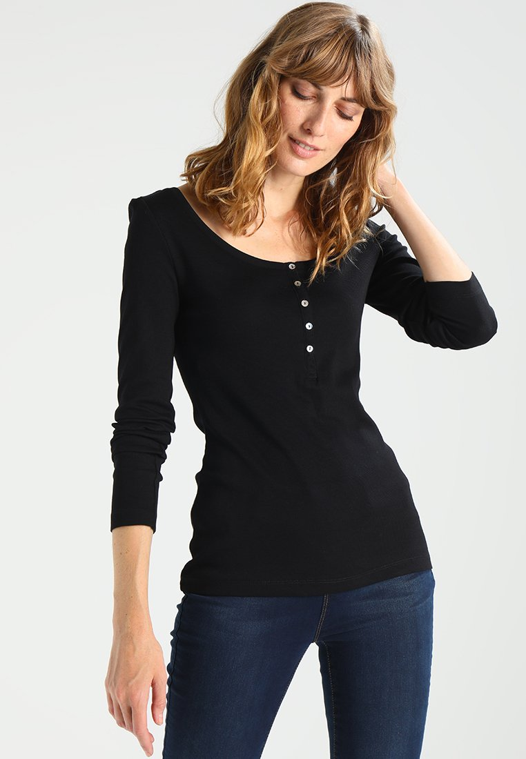 Zalando Essentials - Topper langermet - black