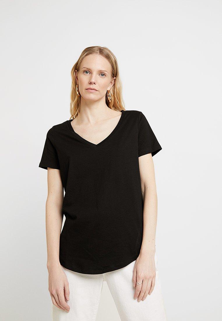 Zalando Essentials - Jednoduché triko - black