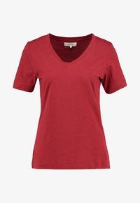 Zalando Essentials - Basic T-shirt - red dahlia - 3