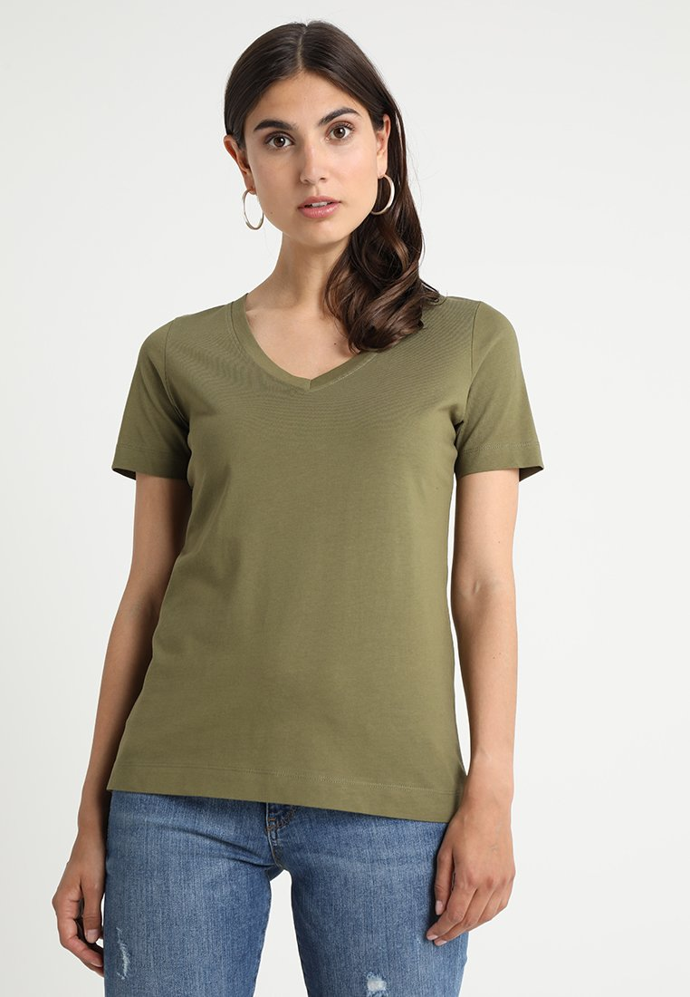 Zalando Essentials - T-Shirt basic - burnt olive