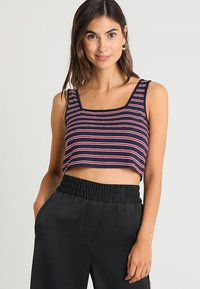 Zalando Essentials - Top - blue/red/white - 0