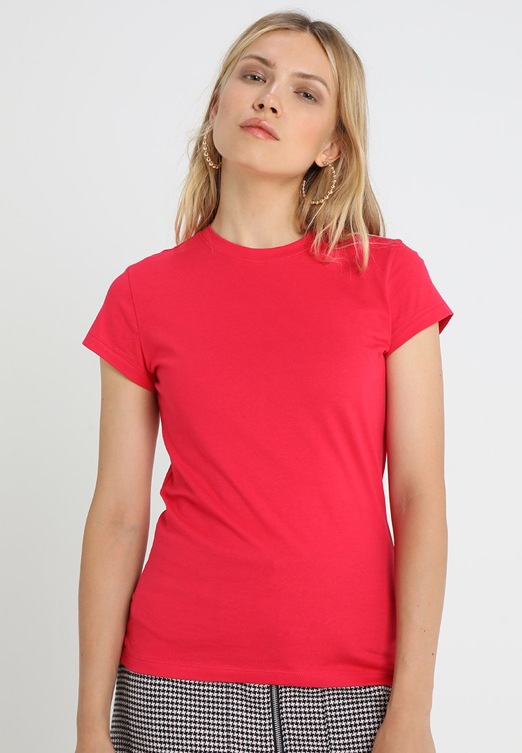 Zalando Essentials - Basic T-shirt - virtual pink