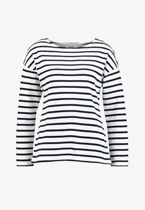 Camiseta de manga larga - white/dark blue