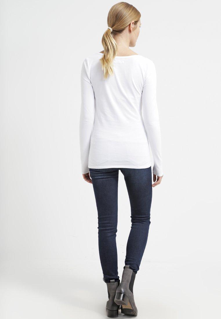 white PackT shirt black À Longues Grey Essentials Zalando Dark 3 Melange Manches D9HIE2