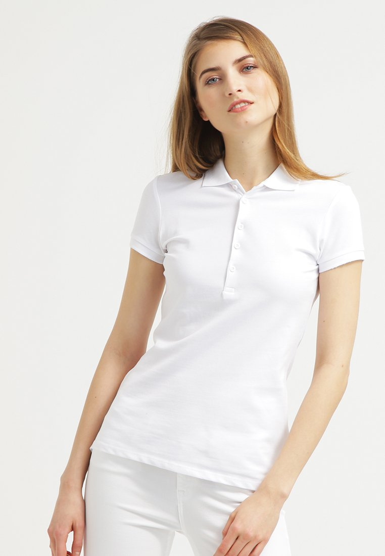 Zalando Essentials - Poloshirt - white