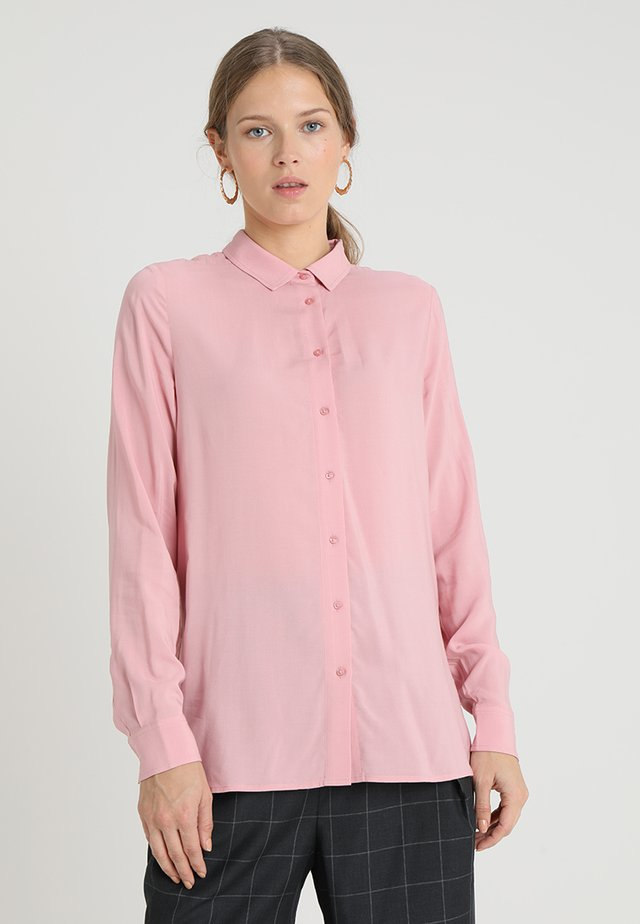 Overhemdblouse - rose