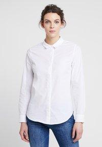 Zalando Essentials - Button-down blouse - white - 0