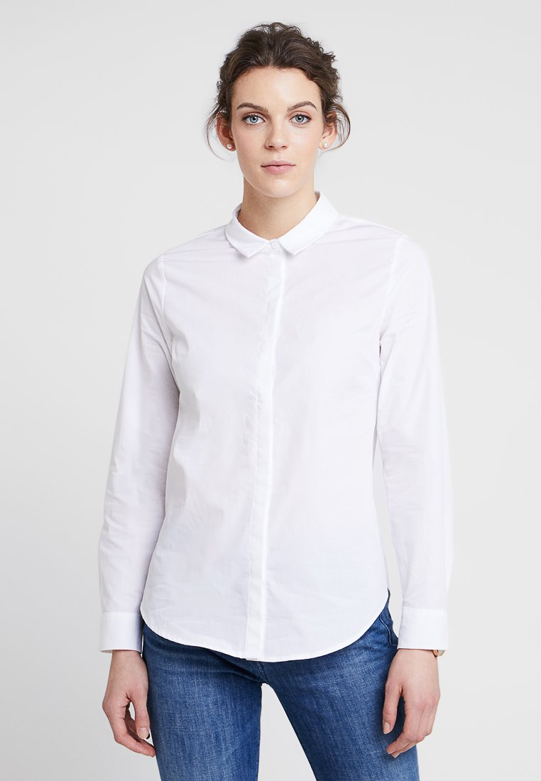 Zalando Essentials - Hemdbluse - white