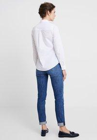 Zalando Essentials - Button-down blouse - white - 2