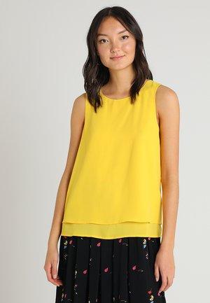 Blouse - yellow