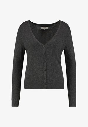 Cardigan - dark grey mélange