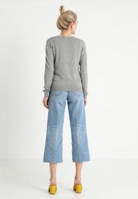 Zalando Essentials - Cardigan - mottled light grey - 2
