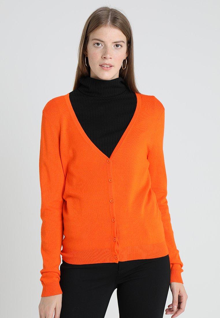 Zalando Essentials - Chaqueta de punto - orange