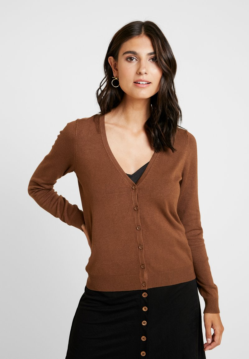 Zalando Essentials - Cardigan - brown