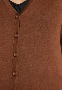 Zalando Essentials - Cardigan - brown - 5