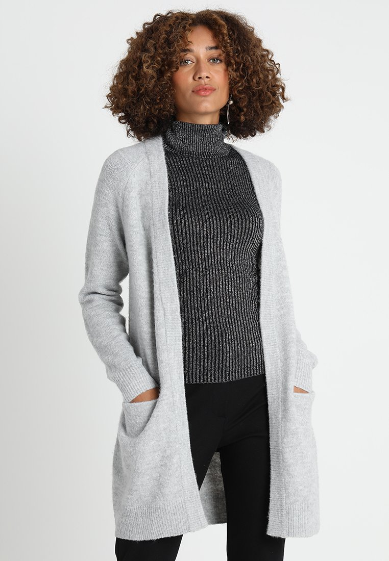 Zalando Essentials - Strikjakke /Cardigans - mottled light grey