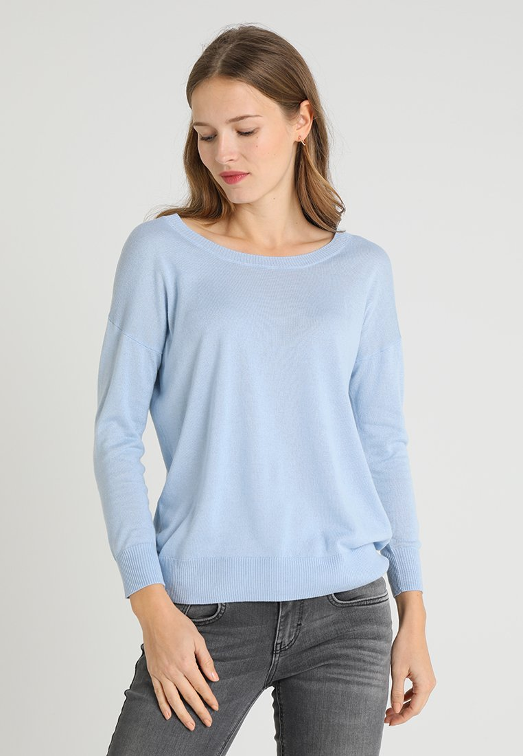 Zalando Essentials - Strickpullover - light blue