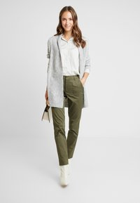Zalando Essentials - Cardigan - mottled light grey - 1