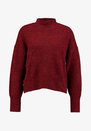 MOCK UP  - Maglione - bordeaux