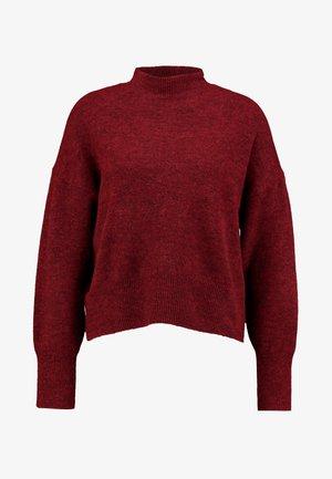 MOCK UP  - Pullover - bordeaux