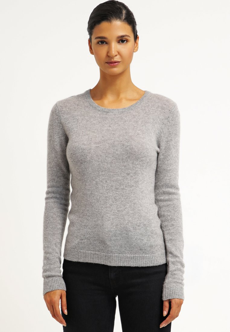 Zalando Essentials - CASHMERE - Maglione - light grey melange