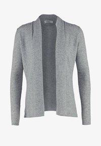 Zalando Essentials - CASHMERE - Cardigan - light grey melange - 4