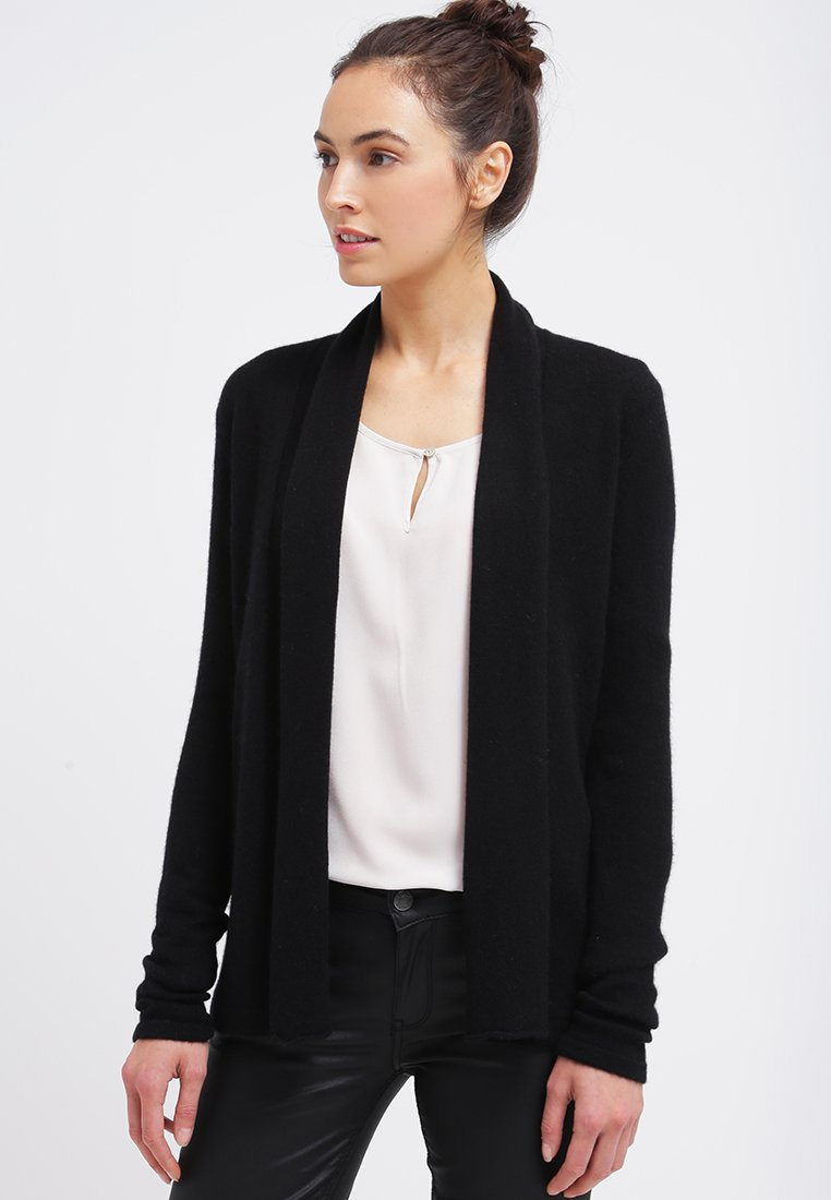 Zalando Essentials - CASHMERE - Cardigan - black