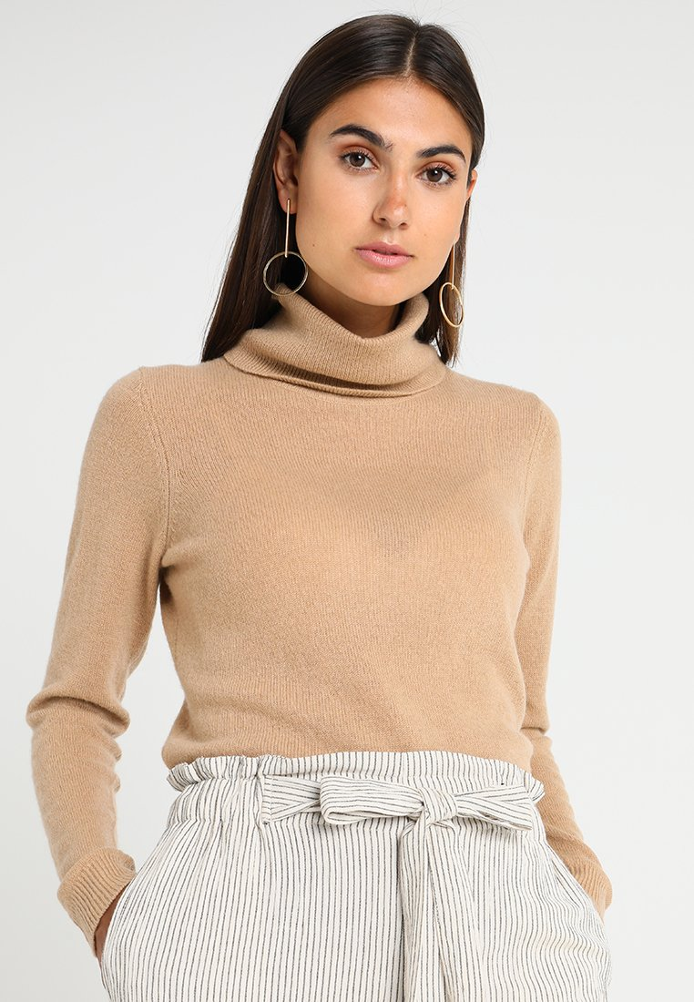 Zalando Essentials - CASHMERE - Stickad tröja - camel