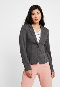Zalando Essentials - Blazer - dark grey melange - 0