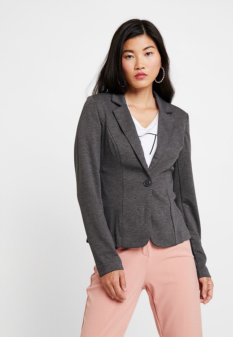 Zalando Essentials - Blazer - dark grey melange