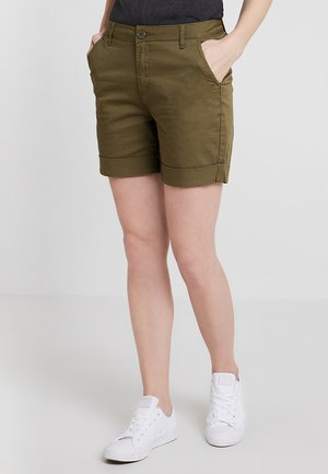 Shorts - burnt olive