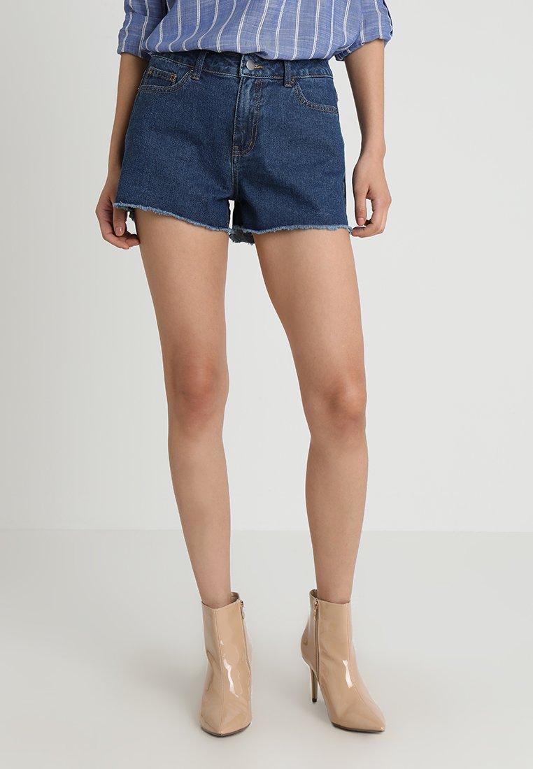 Zalando Essentials - Jeans Shorts - blue denim