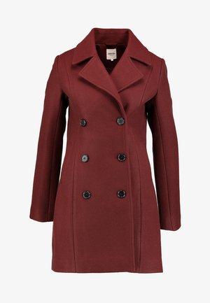 Classic coat - syrah