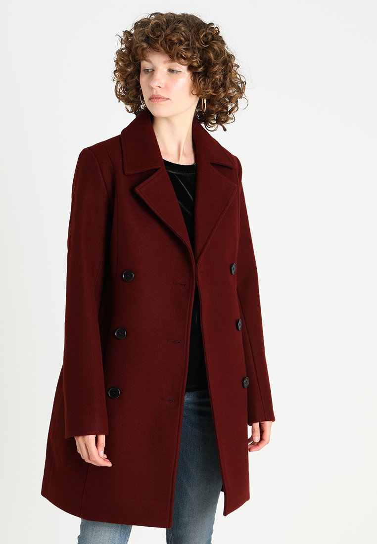 Zalando Essentials - Classic coat - syrah
