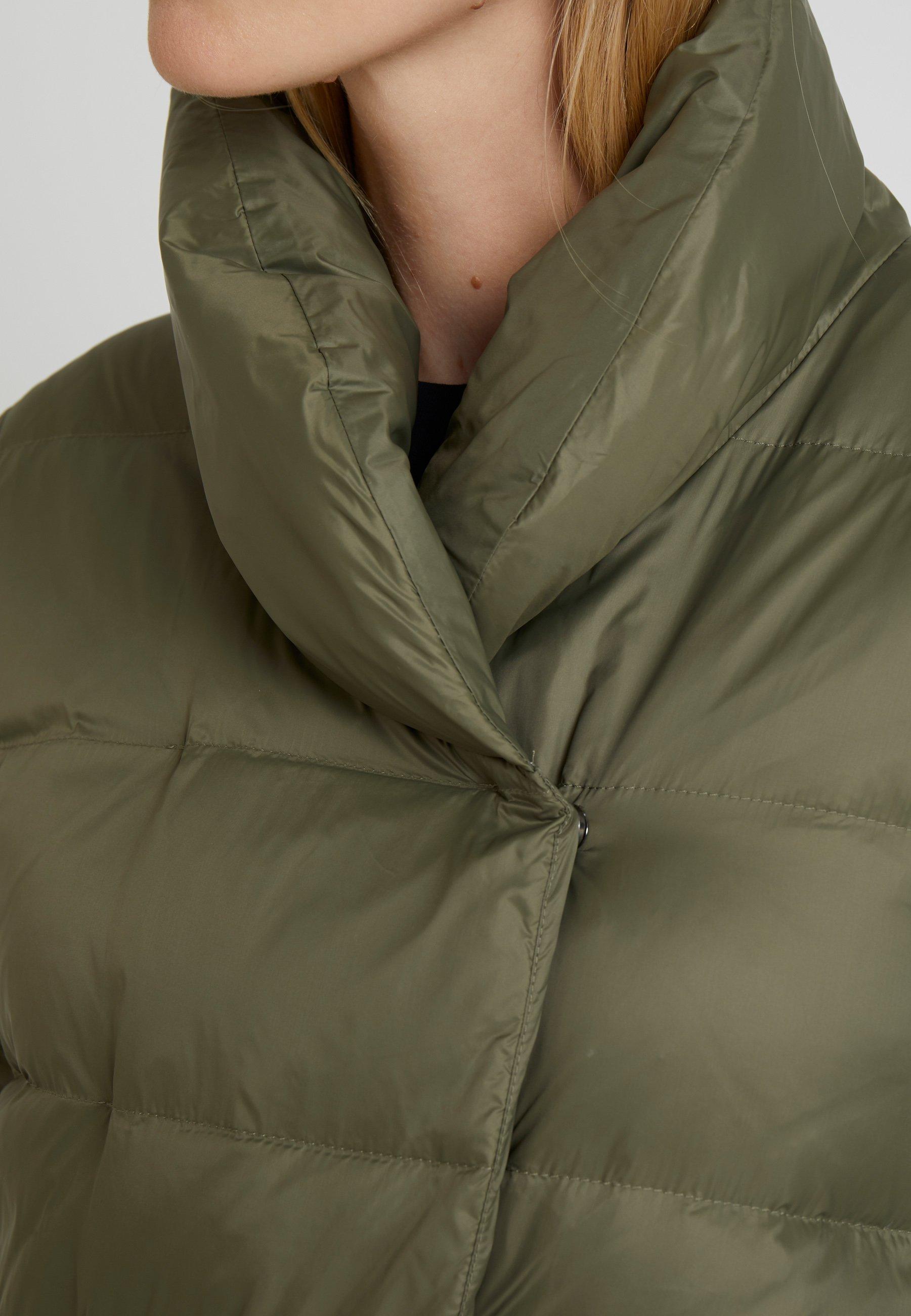 Zalando Essentials Płaszcz puchowy - burnt olive