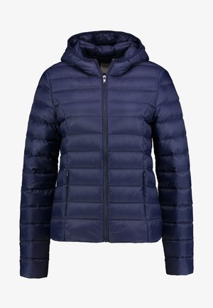 Down jacket - peacoat
