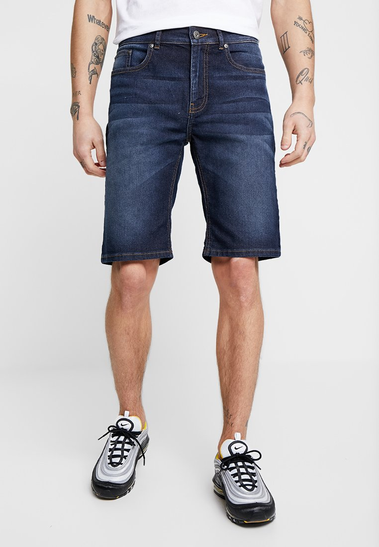 Zalando Essentials - Denim shorts - blue denim