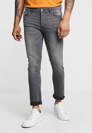 Jeans slim fit - grey denim