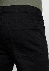 Zalando Essentials - Jeans Slim Fit - black denim - 3