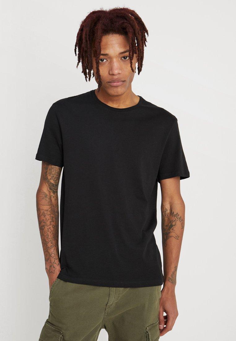 Zalando Essentials - 5 PACK - T-paita - black