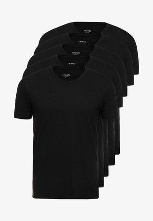 5 Pack - T-shirt basic - black