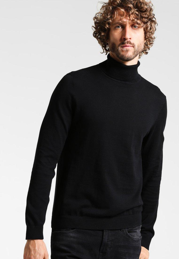 Zalando Essentials - Strikpullover /Striktrøjer - black