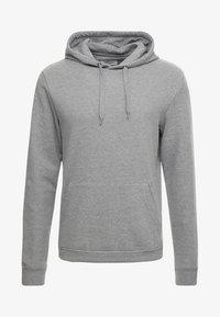 Zalando Essentials - Jersey con capucha - mottled grey - 3