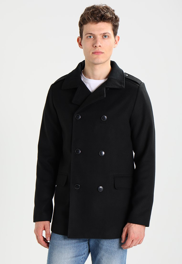 Zalando Essentials - Trenchcoat -  black