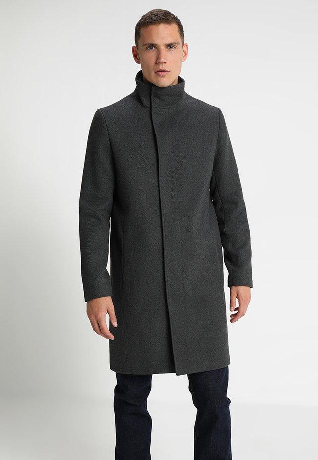 Manteau classique - mottled grey