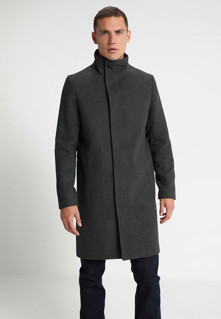 Zalando Essentials - Mantel - mottled grey
