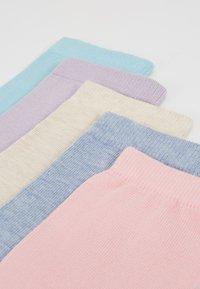 Zalando Essentials - 5 PACK - Sokker - purple/multicolor - 2