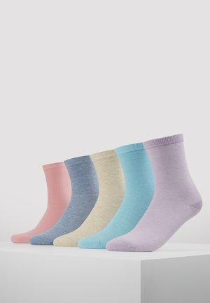 5 PACK - Sokker - purple/multicolor