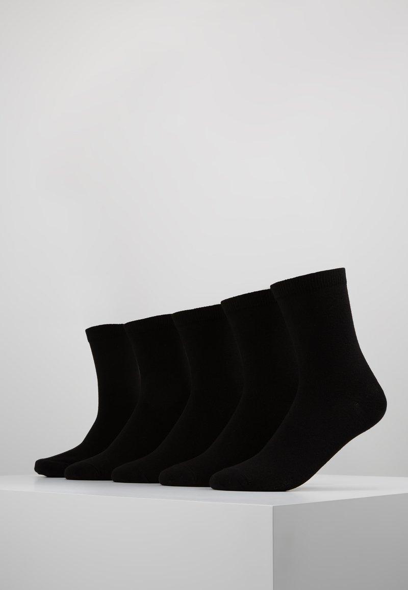 Zalando Essentials - 5 PACK - Ponožky - black