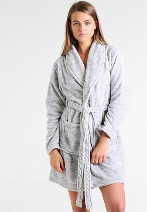 Dressing gown - mottled grey